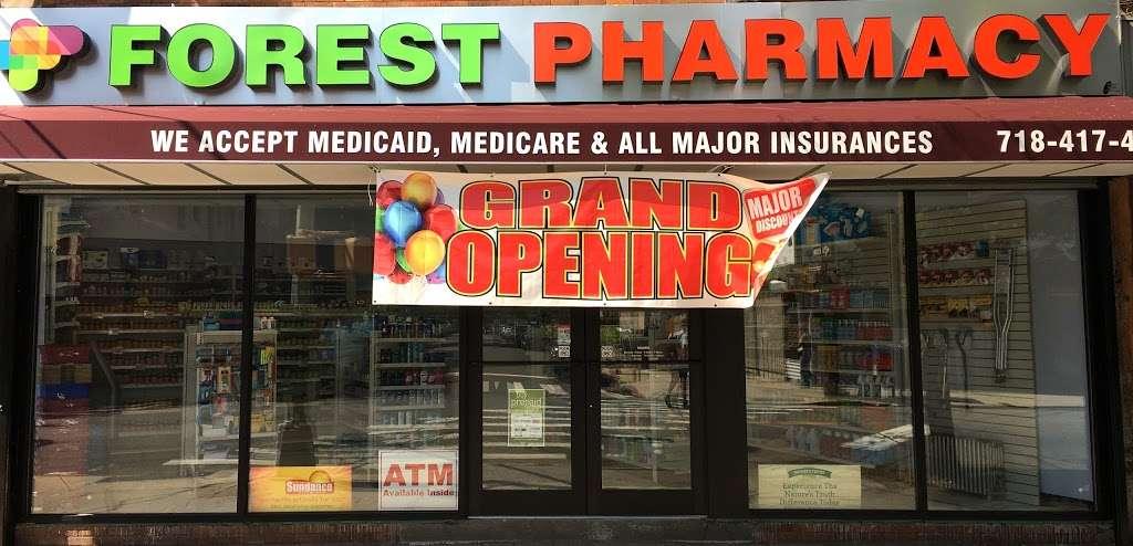 Forest Pharmacy - pharmacy    Photo 2 of 7   Address: 66-44 Forest Ave, Ridgewood, NY 11385, USA   Phone: (718) 417-4700