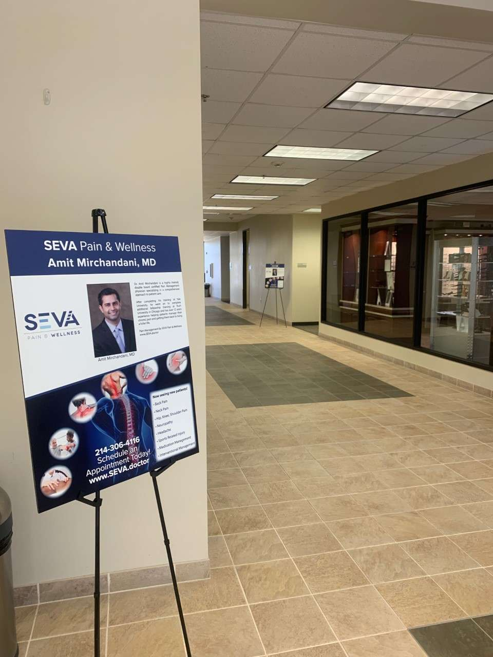 SEVA Pain & Wellness - hospital  | Photo 1 of 10 | Address: 1850 Lakepointe Dr Suite 700, Lewisville, TX 75057, USA | Phone: (214) 306-4116