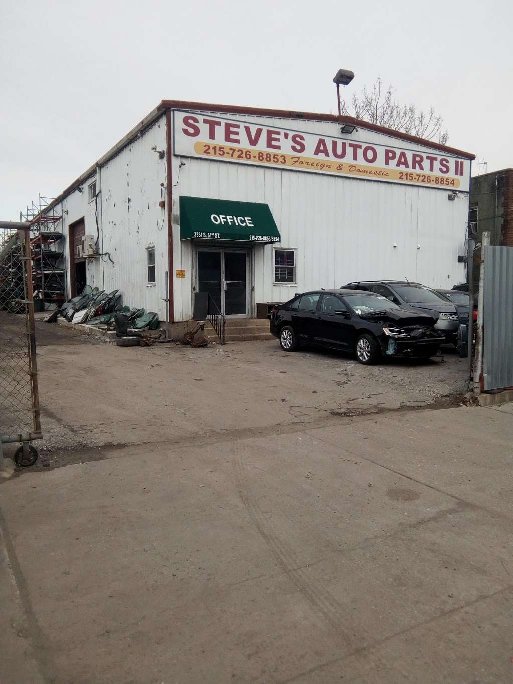Steves Auto Parts II - car repair  | Photo 1 of 10 | Address: 3331 S 61st St, Philadelphia, PA 19153, USA | Phone: (215) 726-8853