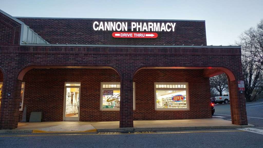 Cannon Pharmacy (Kannapolis South) - pharmacy  | Photo 3 of 5 | Address: 1706 S Cannon Blvd, Kannapolis, NC 28083, USA | Phone: (704) 933-6337