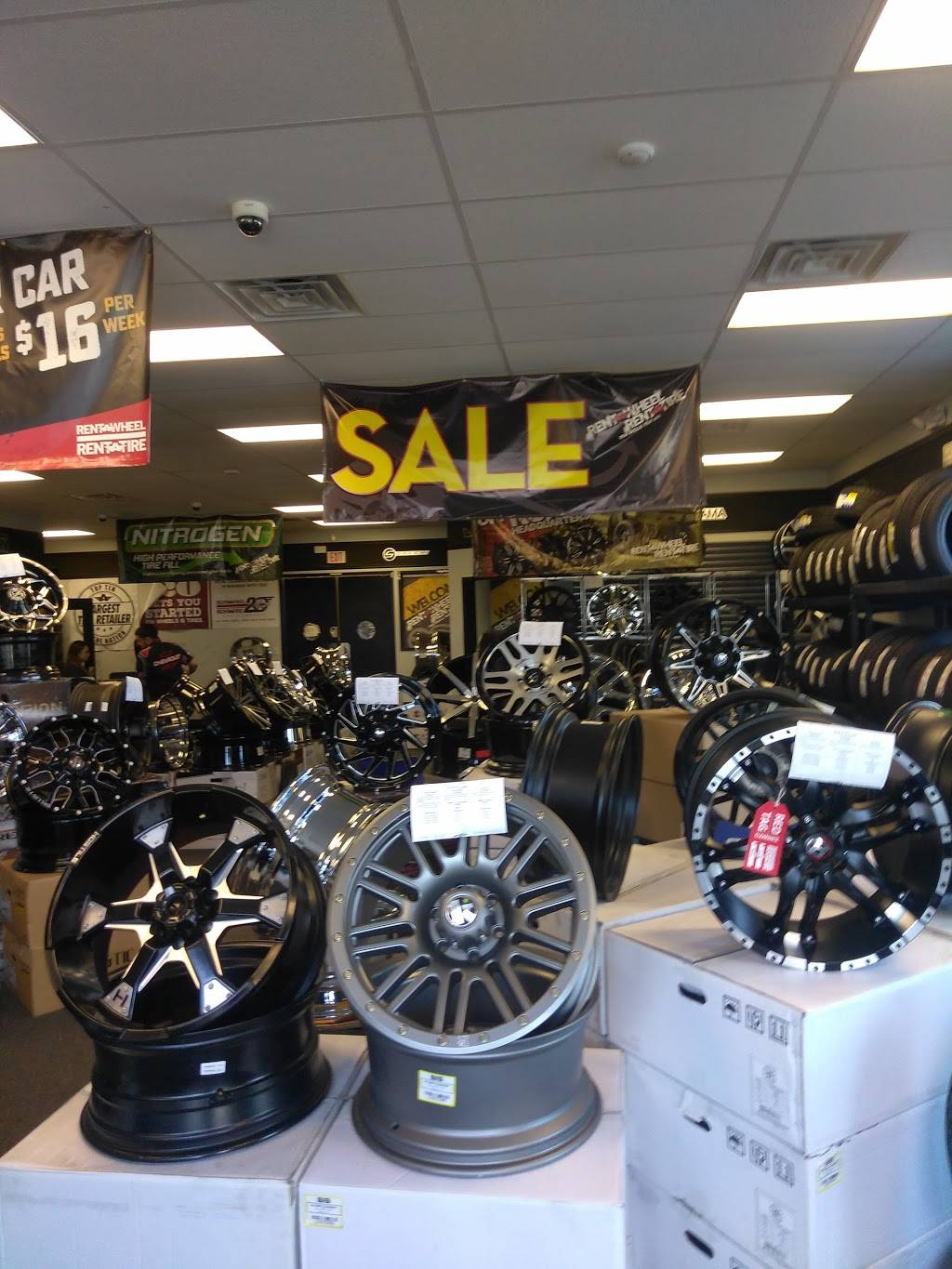 Rent-A-Tire Custom Wheels & Tires in Pasadena, TX - car repair  | Photo 2 of 4 | Address: 2941 Spencer Hwy, Pasadena, TX 77504, USA | Phone: (713) 943-8794