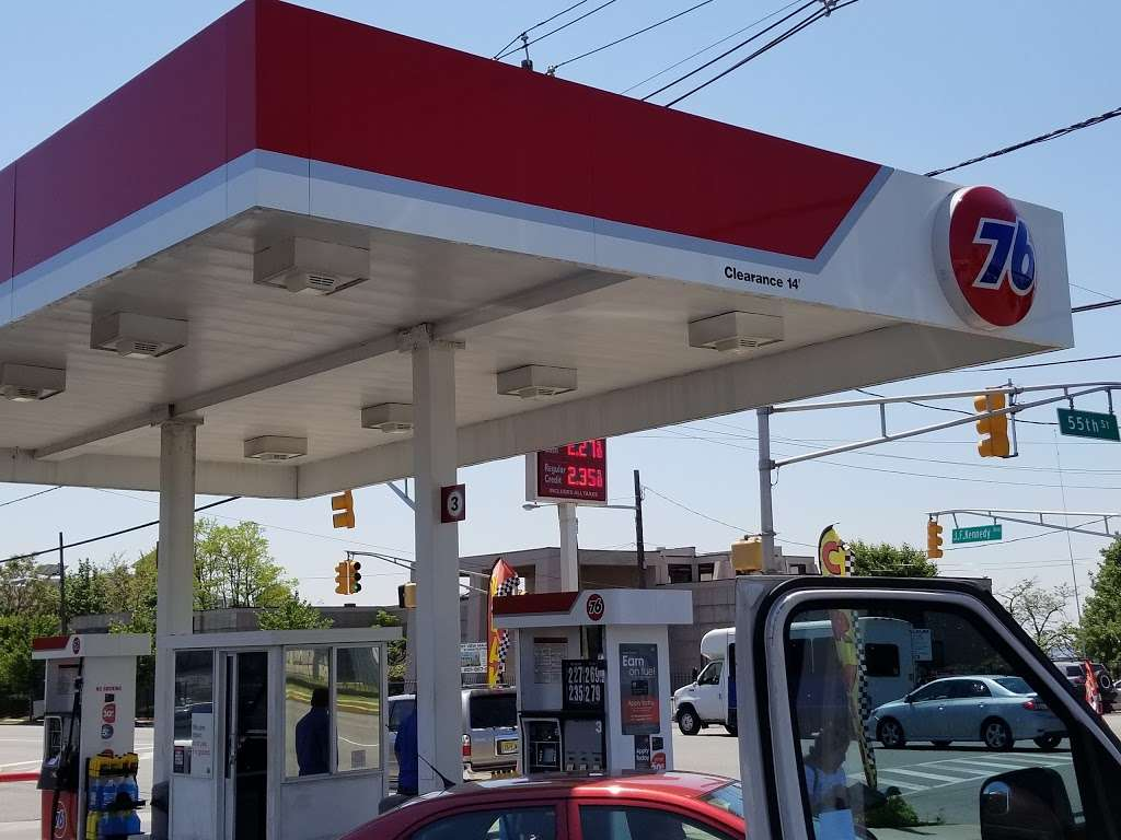 76 - gas station  | Photo 2 of 10 | Address: 5500 John Fitzgerald Kennedy Blvd, West New York, NJ 07093, USA | Phone: (201) 803-2813