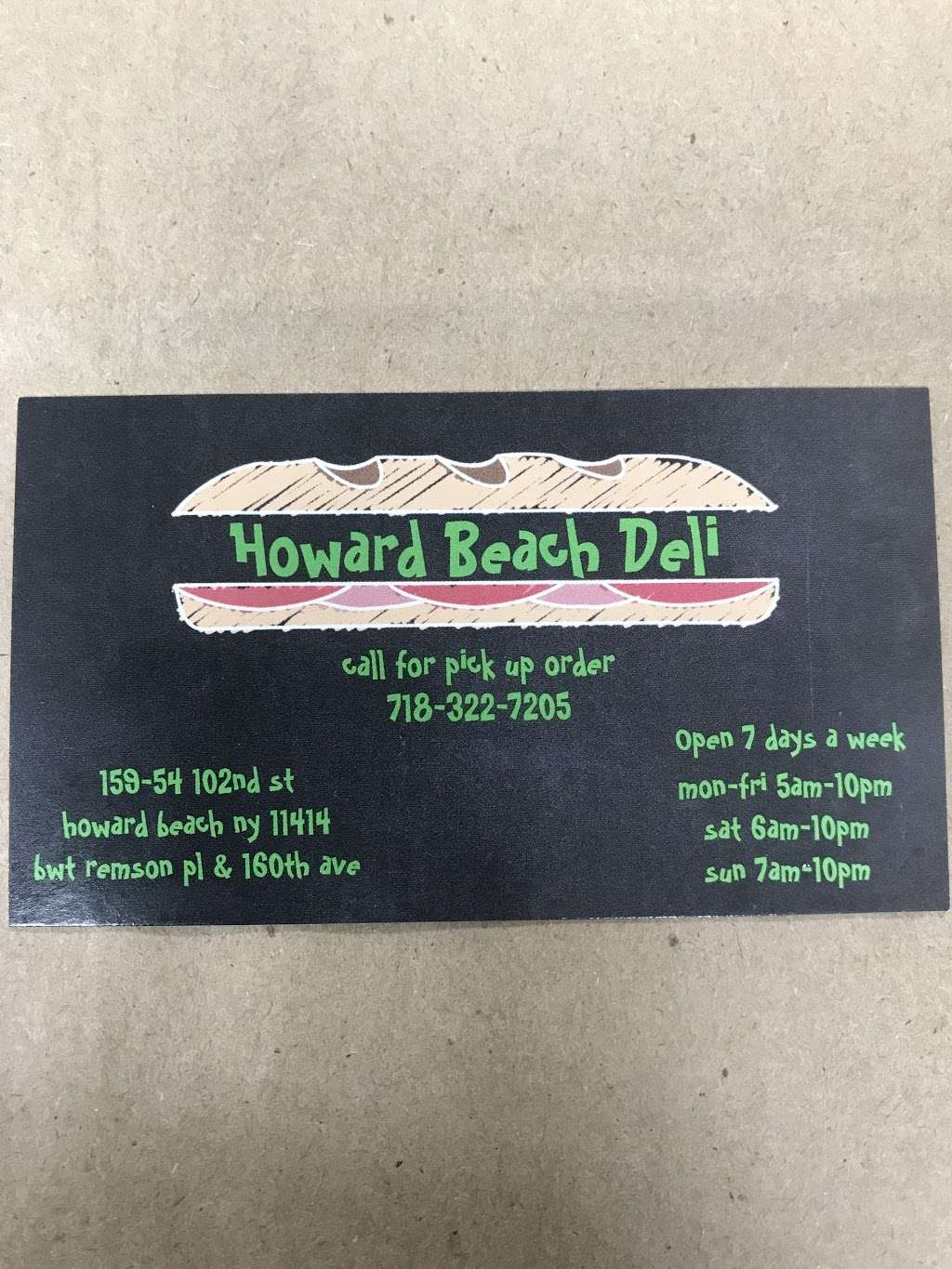 Howard Beach Deli - store  | Photo 5 of 8 | Address: 159-54 102nd St, Jamaica, NY 11414, USA | Phone: (718) 322-7205