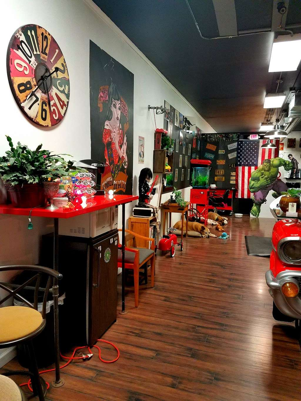 The Garage Hair Studio - hair care  | Photo 5 of 6 | Address: 1033 River Rd, New Milford, NJ 07646, USA | Phone: (201) 530-7440