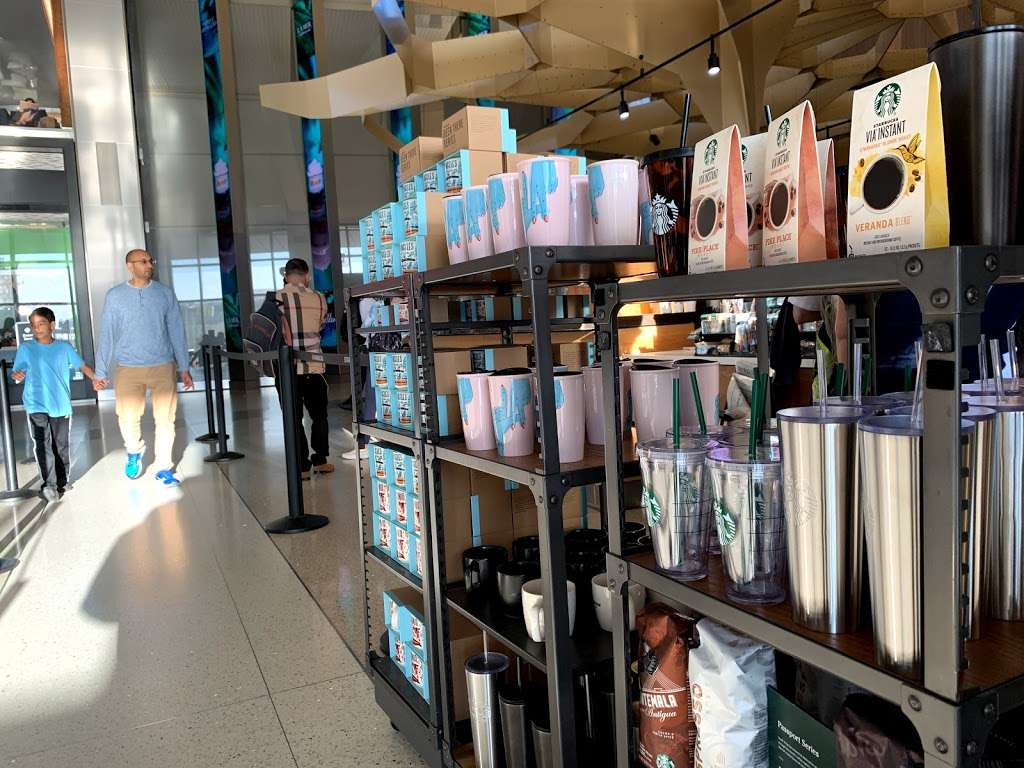 Starbucks Tom Bradley International Terminal LAX - cafe    Photo 3 of 10   Address: Los Angeles, CA 90045, USA   Phone: (424) 222-4000