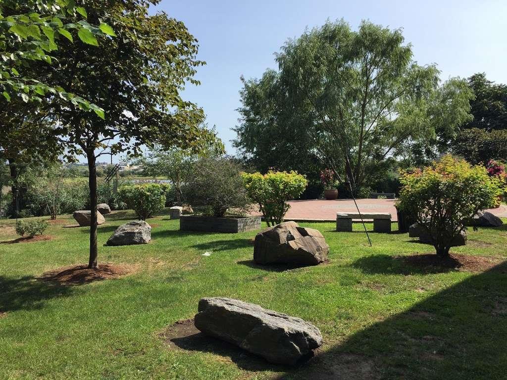 Sadhu Vaswani Meditation Garden - park  | Photo 9 of 10 | Address: 1200 Koelle Blvd, Secaucus, NJ 07094, USA