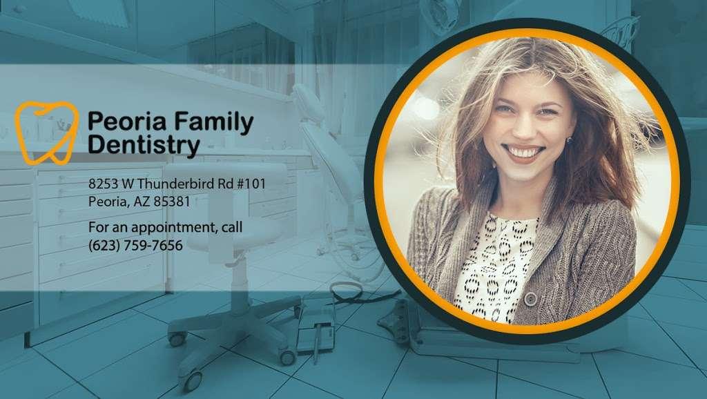 Peoria Family Dentistry - dentist  | Photo 4 of 8 | Address: 8253 W Thunderbird Rd #101, Peoria, AZ 85381, USA | Phone: (623) 759-7656