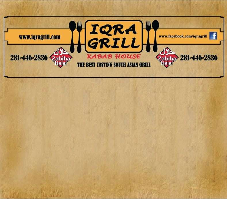 Iqra Grill - restaurant    Photo 1 of 10   Address: 22570 Ford Rd, Porter, TX 77365, USA   Phone: (281) 354-2320