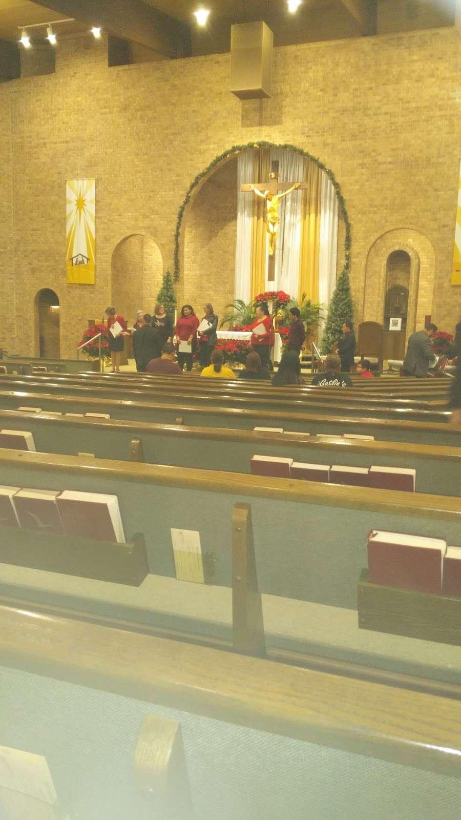 St. Matthew the Evangelist Catholic Church - church  | Photo 7 of 10 | Address: 9915 Hollister St, Houston, TX 77040, USA | Phone: (713) 466-4030