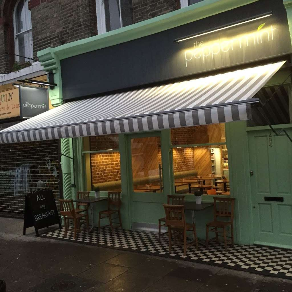 The Peppermint - cafe  | Photo 3 of 10 | Address: 294 Elgin Ave, Maida Vale, London W9 1JS, UK | Phone: 020 7289 0089