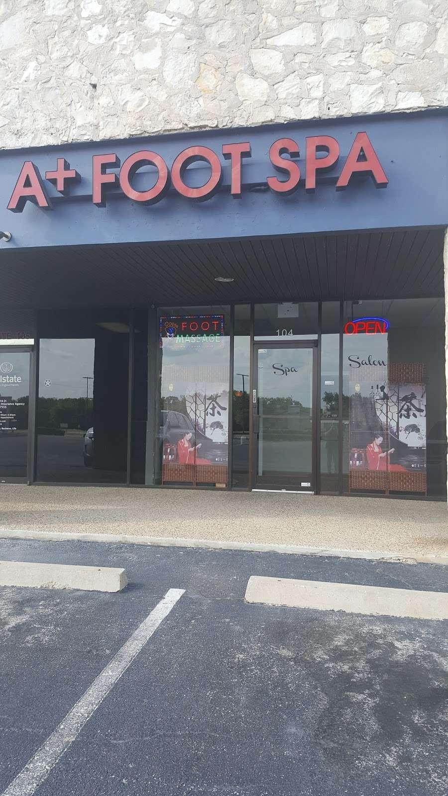 A+ Foot Spa - spa  | Photo 3 of 10 | Address: 9323 Perrin Beitel Rd #104, San Antonio, TX 78217, USA | Phone: (210) 590-1221