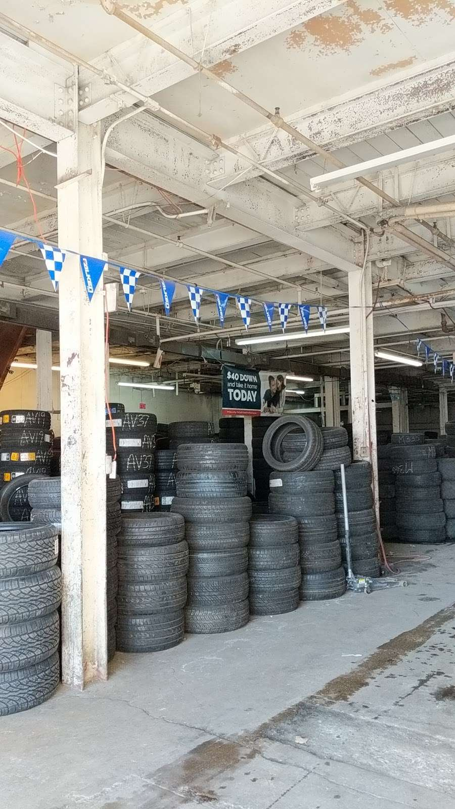 Tire Giants - car repair    Photo 5 of 10   Address: 8301 Torresdale Ave, Philadelphia, PA 19136, USA   Phone: (215) 941-4423