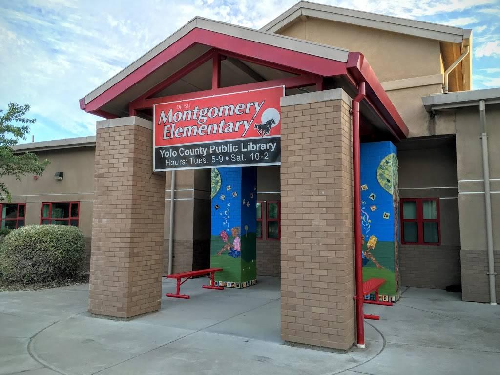 Marguerite Montgomery Elementary School - library  | Photo 1 of 1 | Address: 1441 Danbury St, Davis, CA 95618, USA | Phone: (530) 759-2100