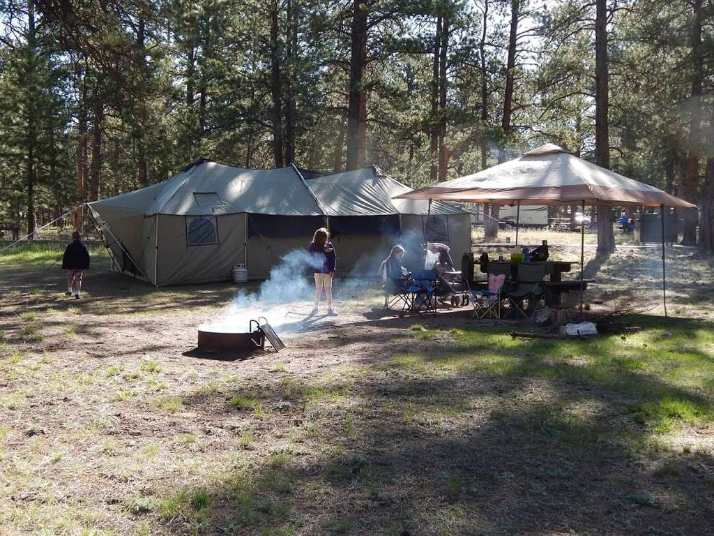 South Meadows Campground - campground  | Photo 2 of 10 | Address: Woodland Park, CO 80863, USA | Phone: (719) 636-1602