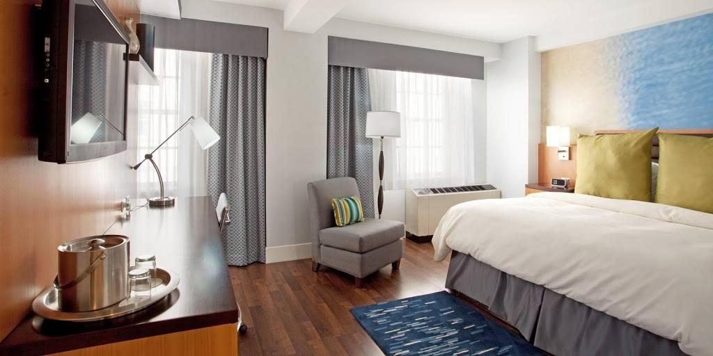 Hotel Indigo Baton Rouge Downtown - lodging  | Photo 2 of 10 | Address: 200 Convention St, Baton Rouge, LA 70801, USA | Phone: (225) 343-1515