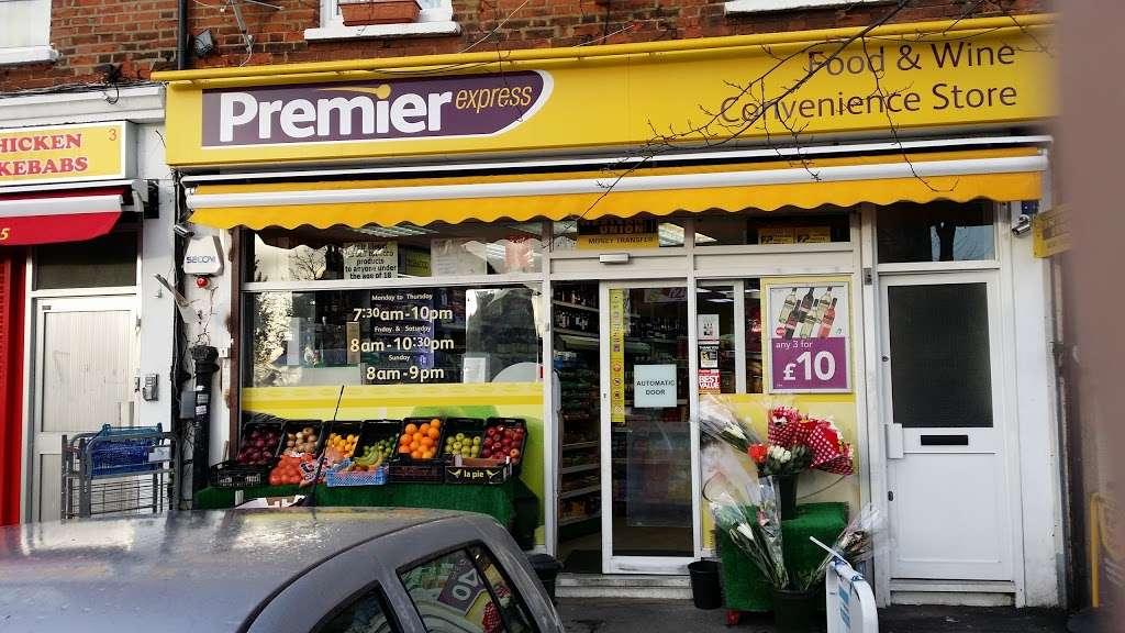 PREMIER FOOD & WINE - convenience store    Photo 7 of 7   Address: Premier Express, 5 Newlands Park, London SE26 5PE, UK   Phone: 020 8778 6312