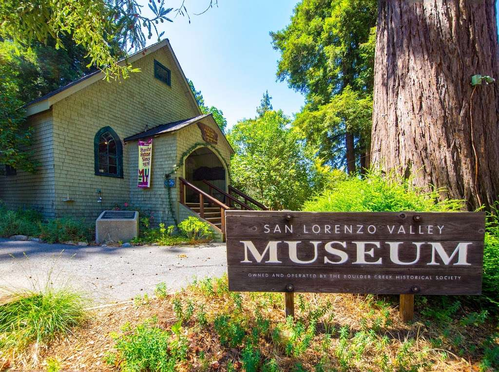San Lorenzo Valley Museum - museum  | Photo 1 of 10 | Address: 12547 CA-9, Boulder Creek, CA 95006, USA | Phone: (831) 338-8382