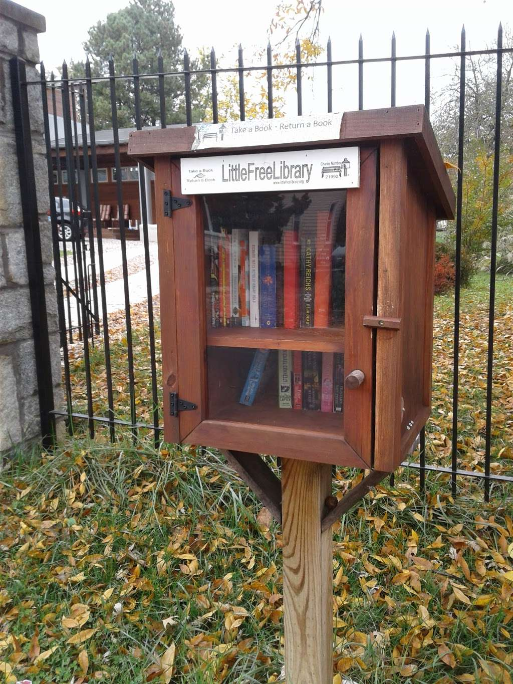 Little Free Library #21992 - library  | Photo 1 of 1 | Address: 627 Ritchie Ave, Silver Spring, MD 20910, USA