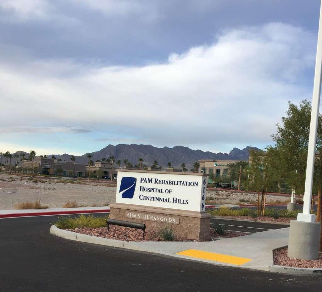 PAM Rehabilitation Hospital of Centennial Hills - hospital  | Photo 1 of 1 | Address: 6166 N Durango Dr, Las Vegas, NV 89149, USA | Phone: (725) 223-4100