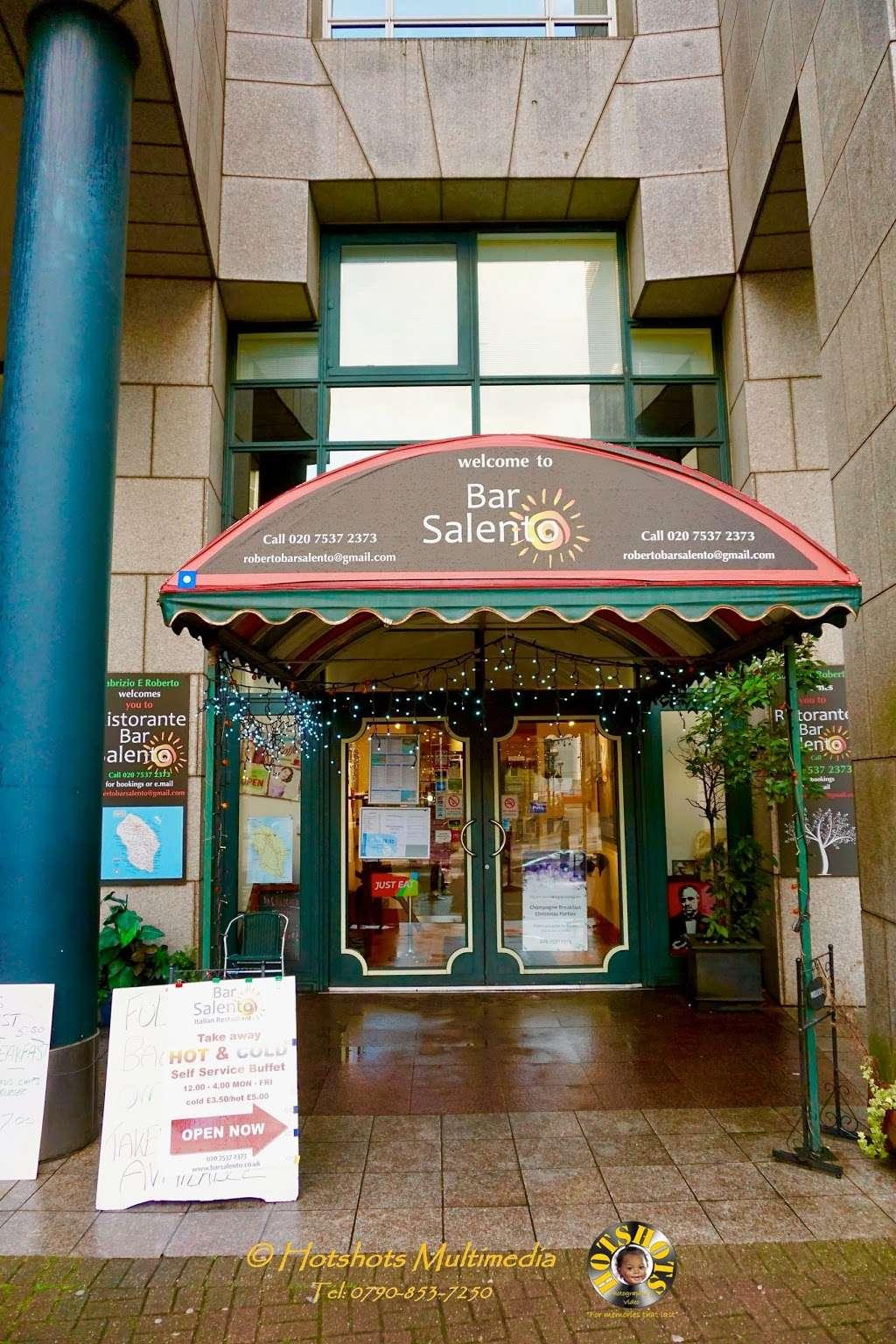 Salento Restaurant Bar pizzeria London - cafe  | Photo 4 of 10 | Address: 3 Clove Cres, Poplar, London E14 2BB, UK | Phone: 020 7537 2373