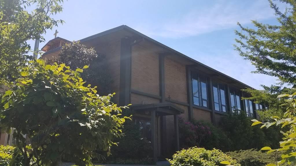 St. Monica Catholic Church - church  | Photo 6 of 8 | Address: 4311 88th Ave SE, Mercer Island, WA 98040, USA | Phone: (206) 232-2900