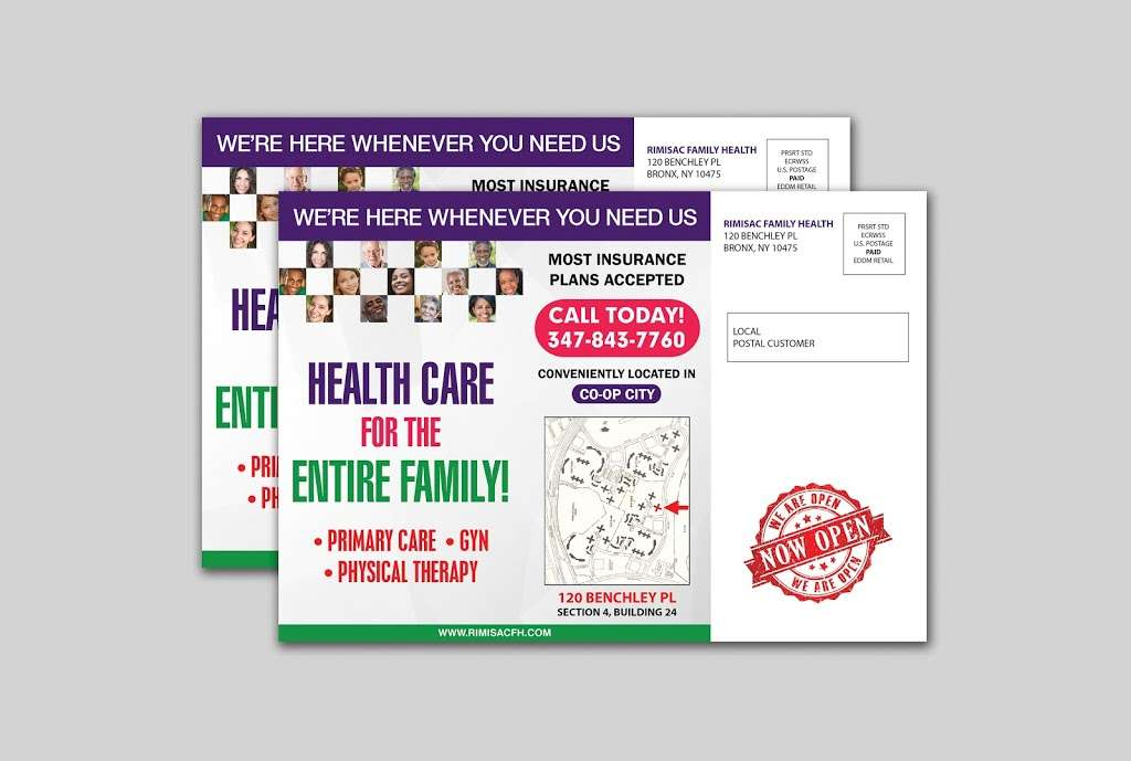 Rimisac Family Health, GYN, Pediatrics & Physical Therapy - Reha - physiotherapist    Photo 2 of 3   Address: 120 Benchley Pl, The Bronx, NY 10475, USA   Phone: (347) 843-7760