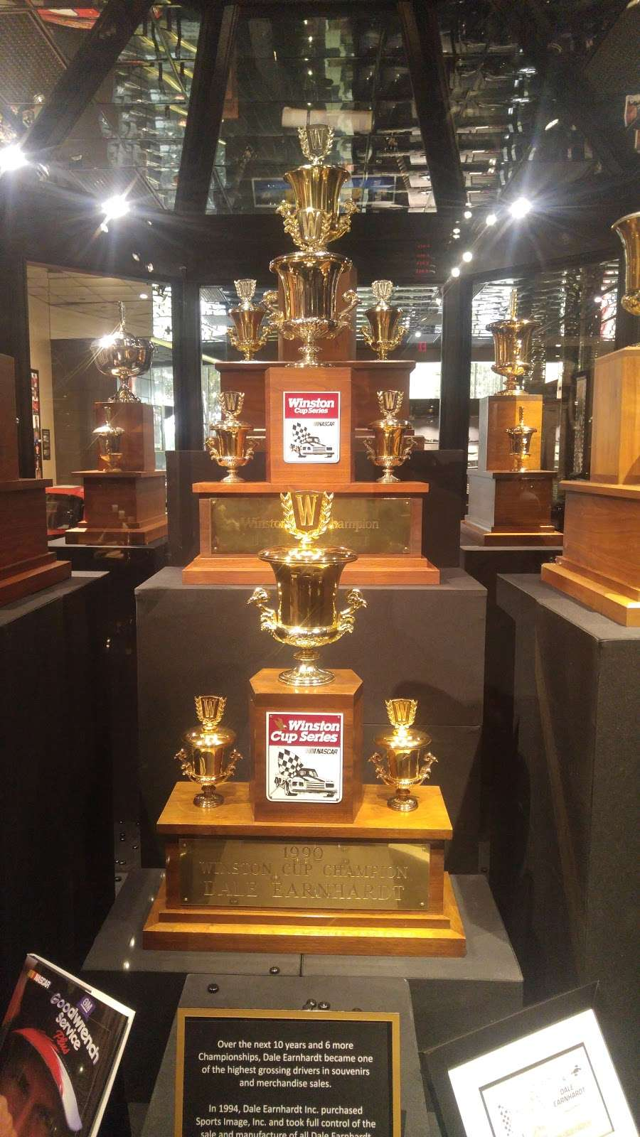 Dale Earnhardt Inc - museum    Photo 2 of 10   Address: 1675 NC-3, Mooresville, NC 28115, USA   Phone: (704) 662-8000