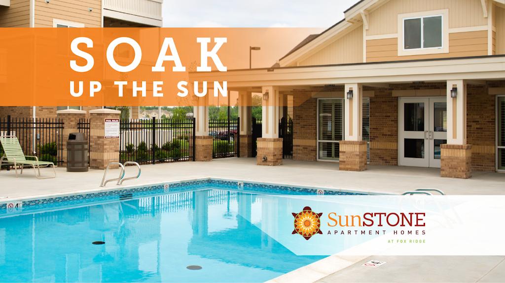 SunSTONE Apartment Homes at Fox Ridge - real estate agency    Photo 4 of 10   Address: 3540 N Maize Rd, Wichita, KS 67205, USA   Phone: (316) 558-5200