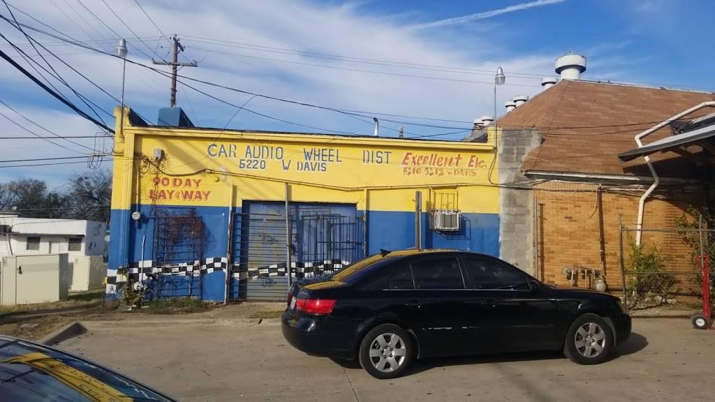 Car Audio Distributors - electronics store    Photo 4 of 6   Address: 5212 W Davis St, Dallas, TX 75211, USA   Phone: (214) 330-1717