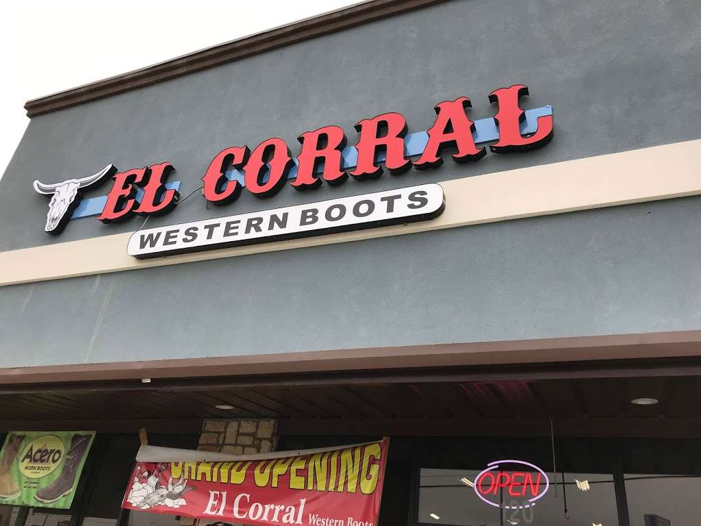 El Corral Western Boots - clothing store  | Photo 1 of 10 | Address: 11117 Harry Hines Blvd Suite 120, Dallas, TX 75229, USA | Phone: (469) 687-0082