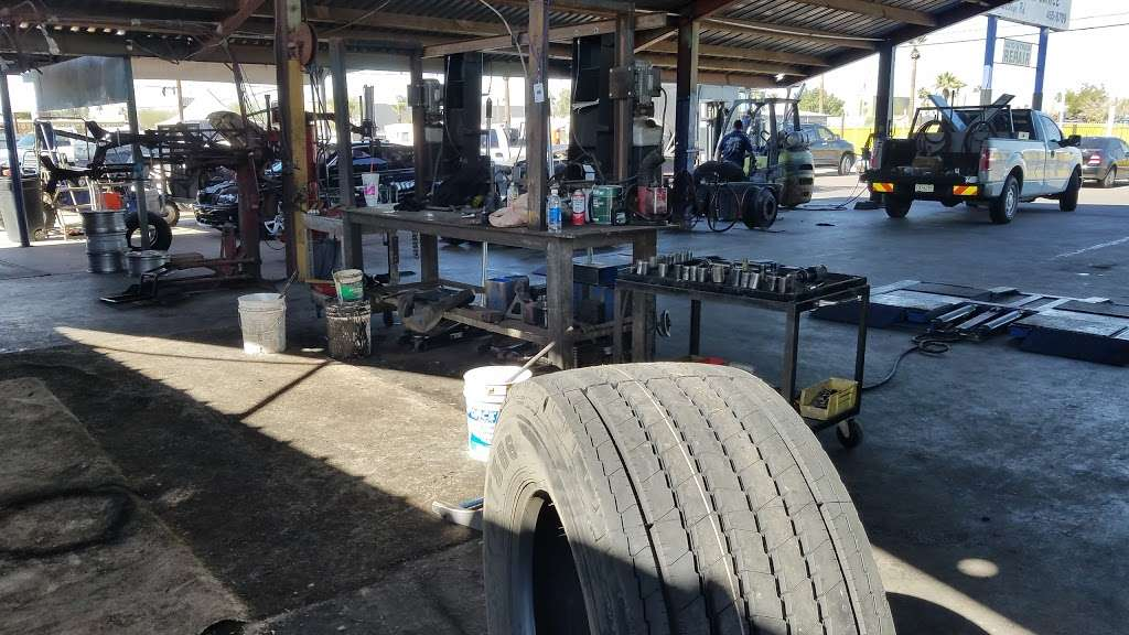 Nunez Tire - car repair    Photo 1 of 7   Address: 3101 W Buckeye Rd, Phoenix, AZ 85009, USA   Phone: (602) 455-8709