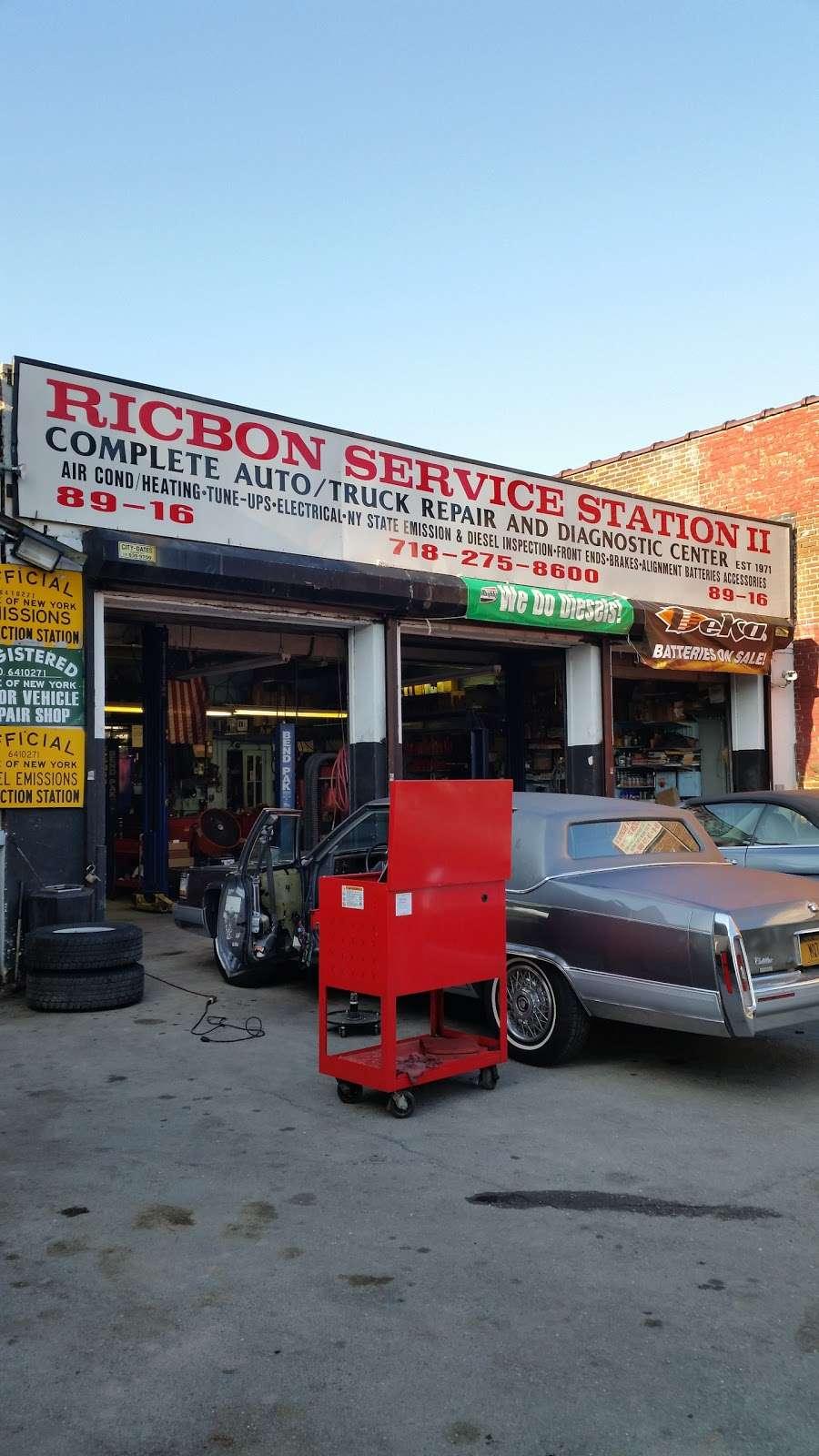 Ricbon Service Station - car repair  | Photo 1 of 2 | Address: 8916 Metropolitan Ave, Flushing, NY 11374, USA | Phone: (718) 275-8600