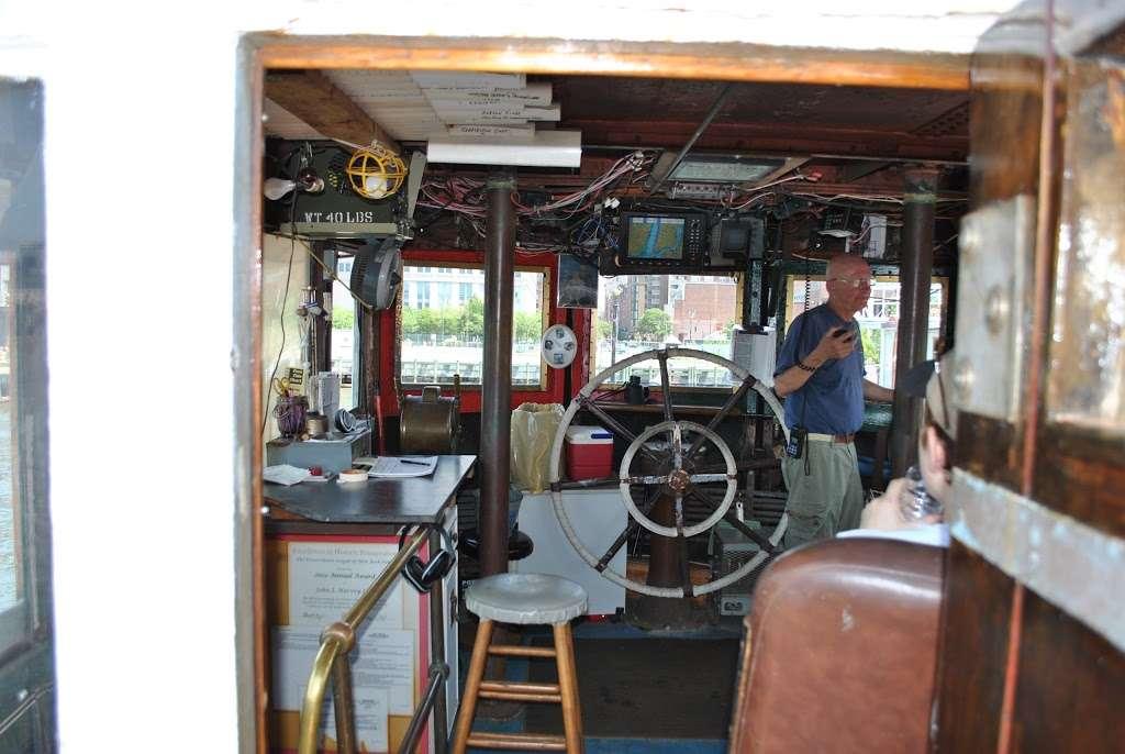 John J. Harvey Fireboat - store  | Photo 2 of 10 | Address: Hudson River Greenway, New York, NY 10005, USA