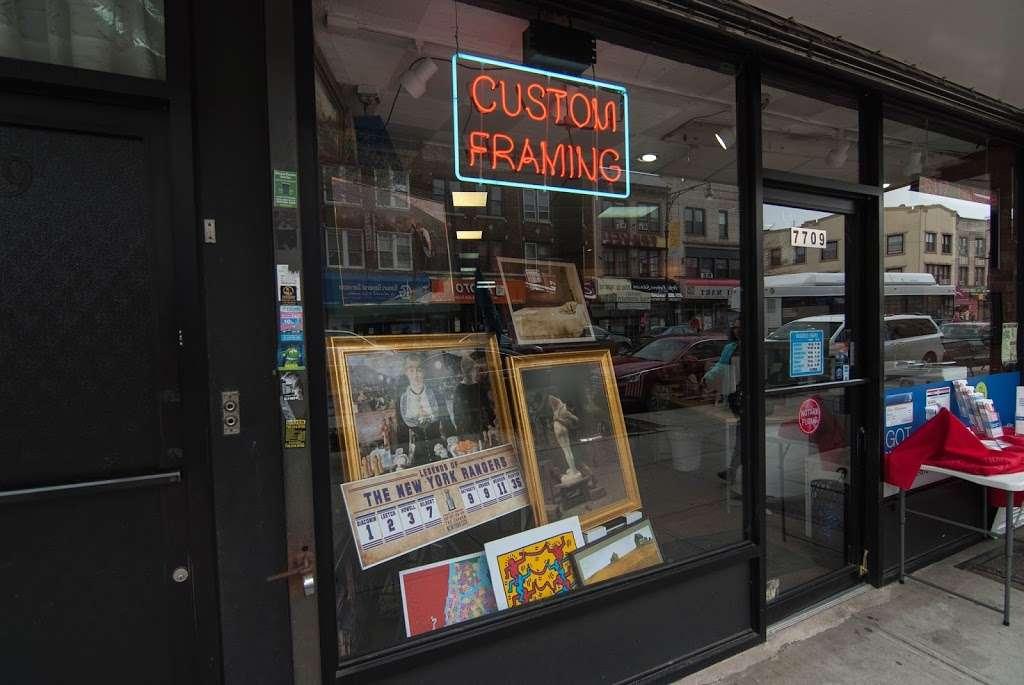 Brooklyn Art Corporation - art gallery  | Photo 1 of 2 | Address: 7709 5th Ave, Brooklyn, NY 11209, USA | Phone: (718) 745-7734