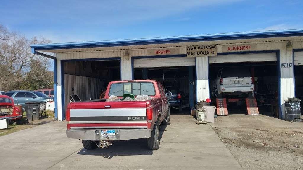 A & A Auto Service and Sales - car dealer    Photo 4 of 10   Address: 5110 Fuqua Gardens View Rd, Houston, TX 77045, USA   Phone: (713) 434-8464