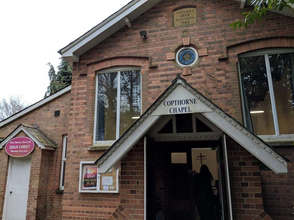 Copthorne Chapel - church  | Photo 2 of 4 | Address: Chapel Ln, Felbridge, Crawley RH10 3ET, UK