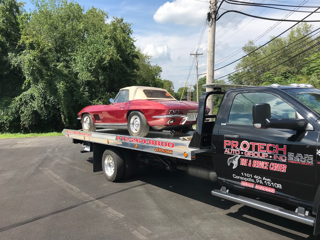 Protech Auto Group Towing & Recovery - car repair  | Photo 1 of 2 | Address: 1101 4th Ave UNIT B, Coraopolis, PA 15108, USA | Phone: (724) 561-5260
