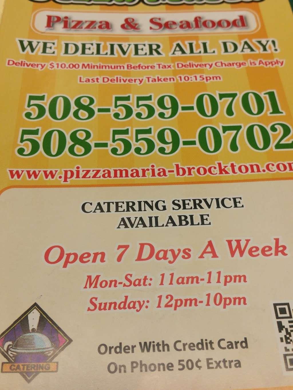 Pizza Maria - meal takeaway  | Photo 5 of 7 | Address: 180 Oak St, Brockton, MA 02301, USA | Phone: (508) 559-0701