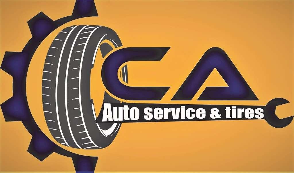 CA Auto Service & Tire Shop - car repair  | Photo 3 of 7 | Address: 4908 Aldine Bender Rd, Houston, TX 77032, USA | Phone: (832) 654-6619