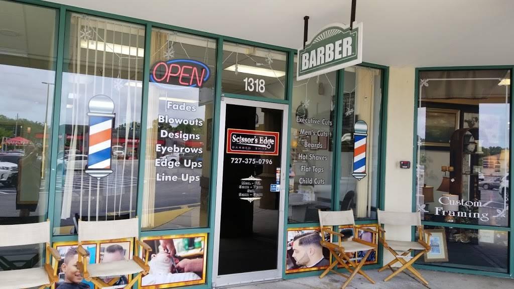 Scissors Edge Barber shop - hair care  | Photo 6 of 8 | Address: 1318 Seven Springs Blvd, New Port Richey, FL 34655, USA | Phone: (727) 375-0796