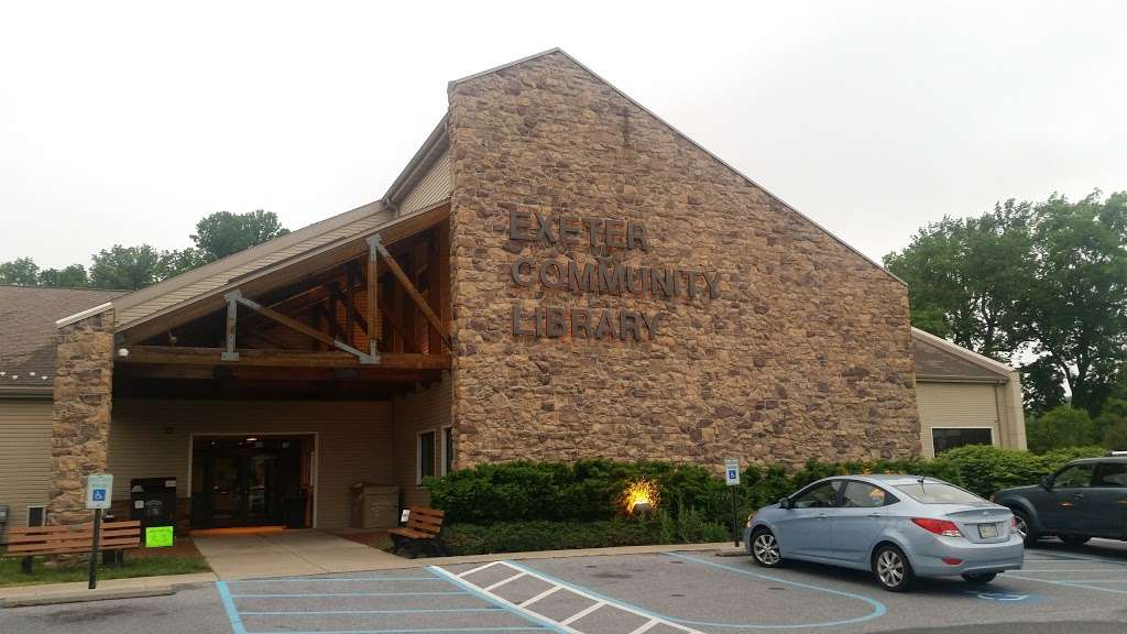 Exeter Community Library - library  | Photo 1 of 1 | Address: 4565 Prestwick Dr, Reading, PA 19606, USA | Phone: (610) 406-9431