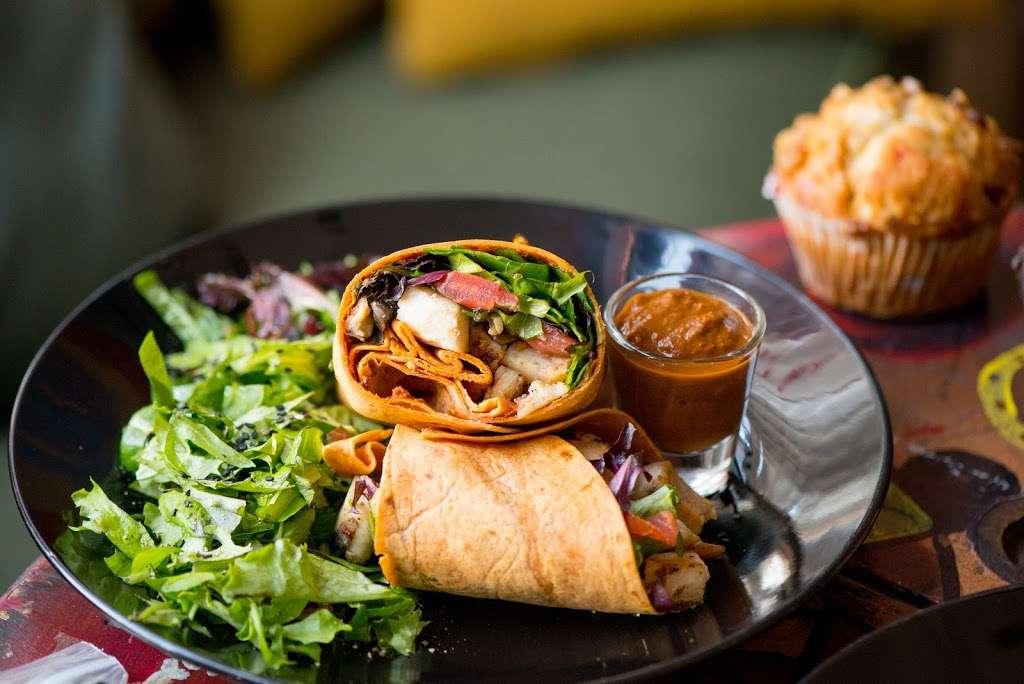 Blu Elefant Cafe - cafe    Photo 2 of 10   Address: 2024 W Washington Blvd, Los Angeles, CA 90018, USA   Phone: (323) 641-0466