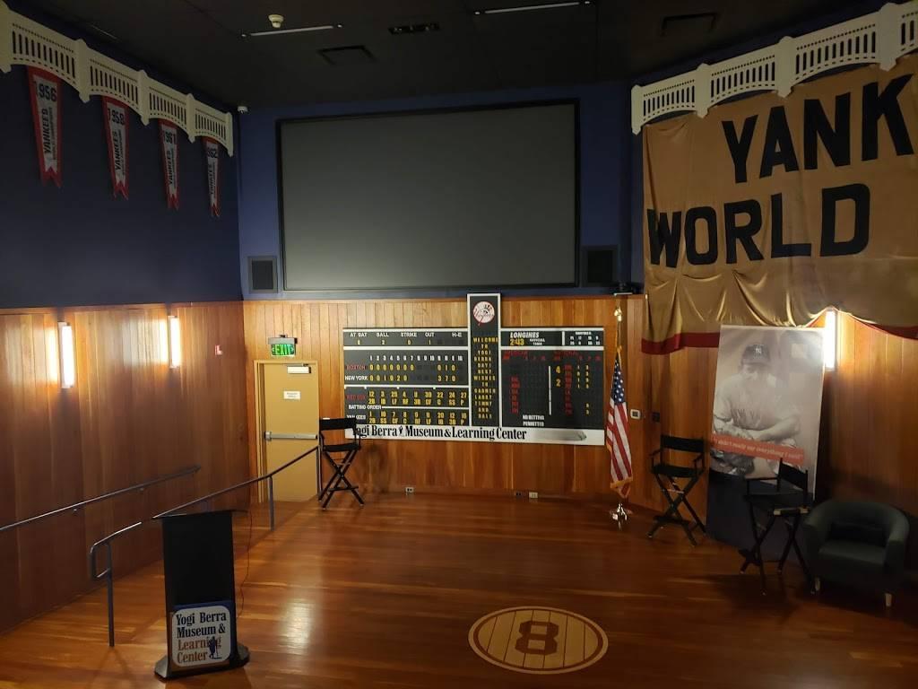 Yogi Berra Museum - museum  | Photo 4 of 8 | Address: 8 Yogi Berra Drive, Little Falls, NJ 07424, USA | Phone: (973) 655-2378