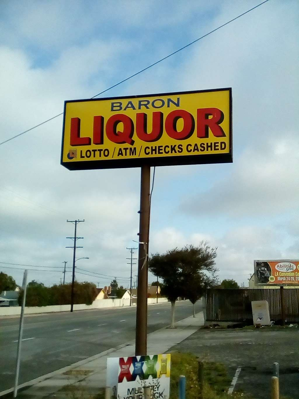Baron Liquor - store  | Photo 2 of 4 | Address: 15631 S Avalon Blvd, Gardena, CA 90248, USA | Phone: (424) 340-2474