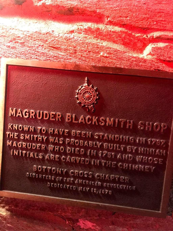 Magruder Blacksmith Shop Est. 1787 - museum  | Photo 3 of 3 | Address: 7835 River Rd, Bethesda, MD 20817, USA