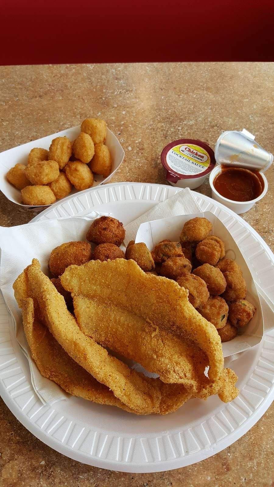 Chicken Express - restaurant    Photo 4 of 10   Address: 7300 Garth Rd, Baytown, TX 77521, USA   Phone: (281) 421-8400