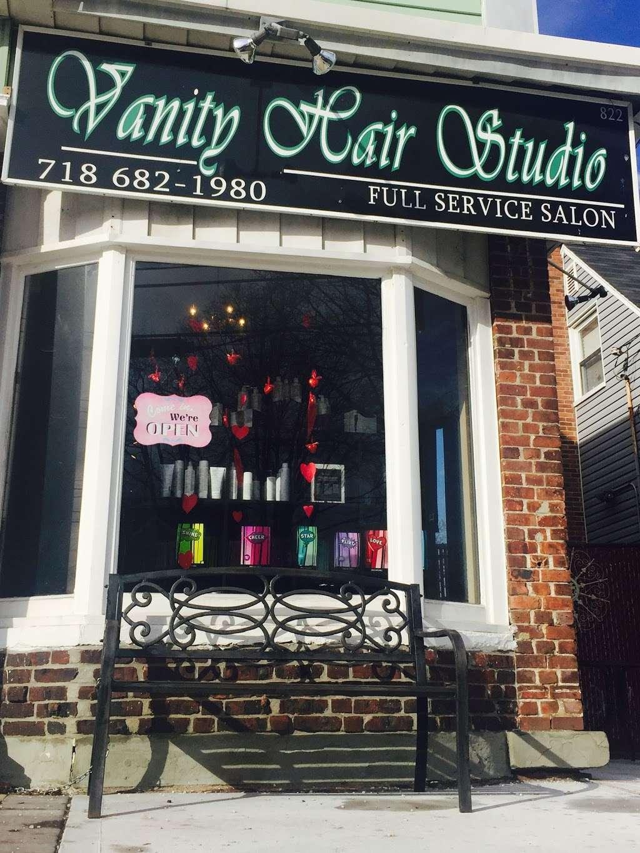 Vanity Hair Studio - hair care    Photo 1 of 1   Address: 822 Jewett Ave, Staten Island, NY 10314, USA   Phone: (718) 682-1980