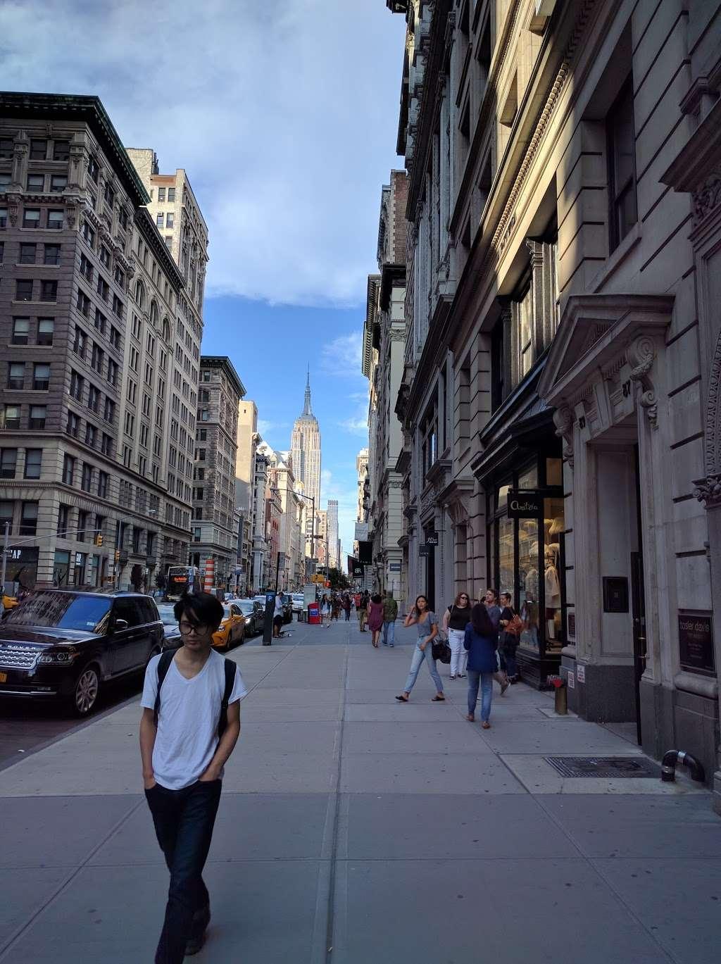 5 Av & W 17 St - bus station  | Photo 1 of 1 | Address: New York, NY 10011, USA