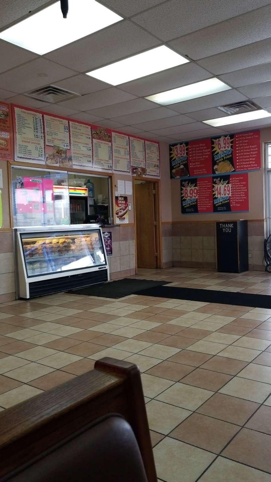 Captain Fresh Fish & Chicken - restaurant    Photo 8 of 10   Address: 1633 E Court St, Kankakee, IL 60901, USA   Phone: (815) 933-8422