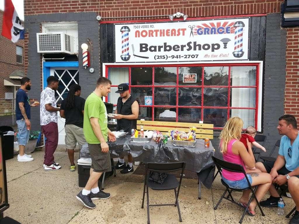 Northeast Grace Barbershop - hair care    Photo 3 of 10   Address: 7503 Verree Rd, Philadelphia, PA 19111, USA   Phone: (215) 941-2707